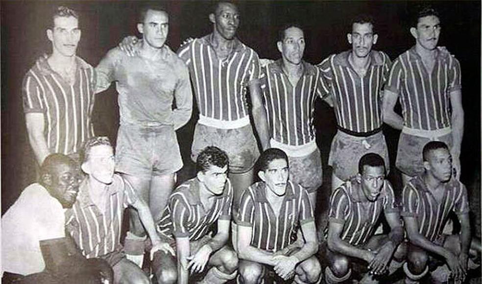 Campeão da Taça Brasil de 1959, o Bahia foi o primeiro time nordestino campeão nacional — Foto: Divulgação/EC Bahia