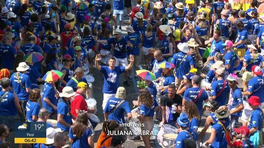 Monobloco animou foliões no Centro do Rio
