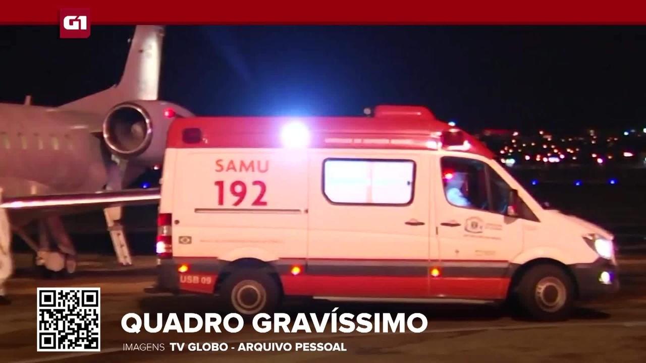 G1 em 1 Minuto: Pacientes transferidos de Manaus para Goiás estão em estado gravíssimo