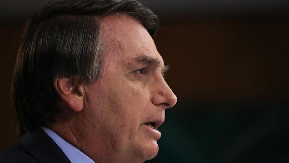 Em seu discurso deste ano, Bolsonaro falará à ONU sobre vacinas e meio ambiente — Foto: MARCOS CORRÊA/PR