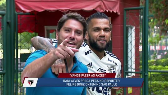 Repórter diz que Daniel Alves foi genial ao pedir desculpas