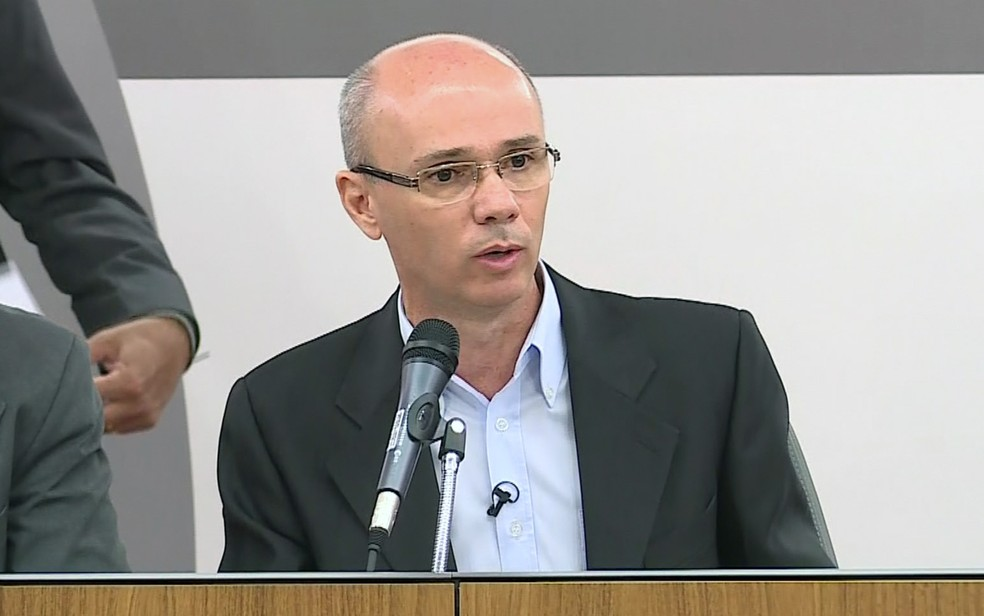 Robson Sávio Souza, coordenador da Comissão da Verdade de Minas Gerais (Foto: Reprodução/TV Globo)