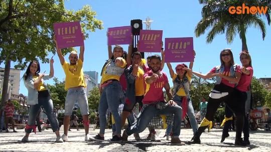 Veja como foi o lançamento da novela 'Verão 90' em Fortaleza