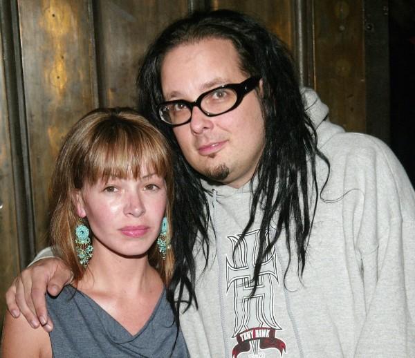 Jonathan Davis e sua ex-esposa Deven Davis (Foto: Getty Images)