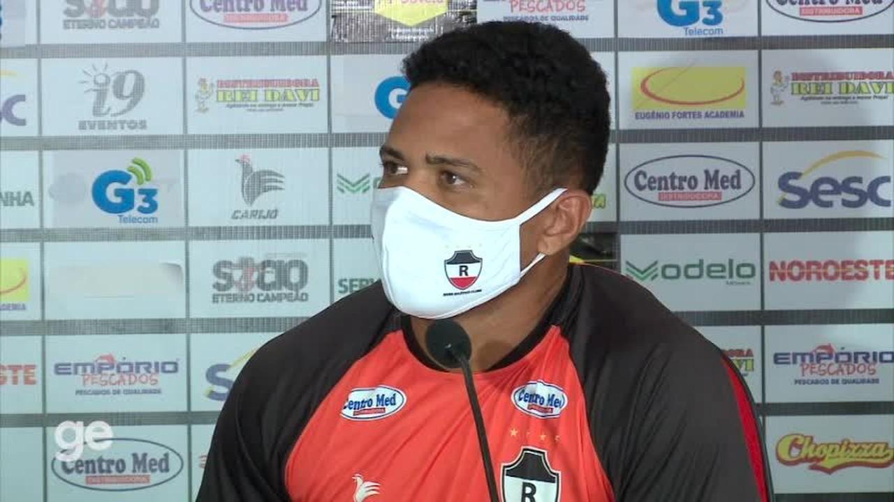 Jorginho, reforço do River-PI, fala sobre peso de jogar apenas o Campeonato Piauiense