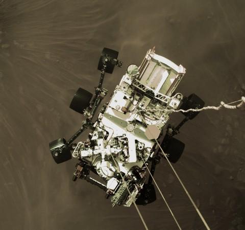 Nasa divulga vídeo do pouso do robô Perseverance em Marte; assista