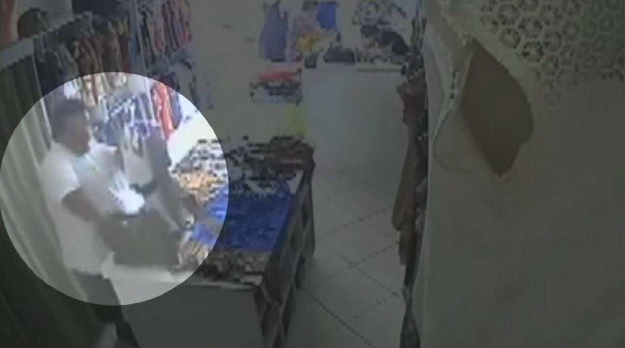 Polícia de Birigui procura suspeito de cometer furtos em lojas; veja vídeo