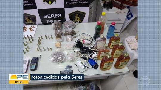 Sete armas de fogo são apreendidas na Penitenciária Professor Barreto Campelo