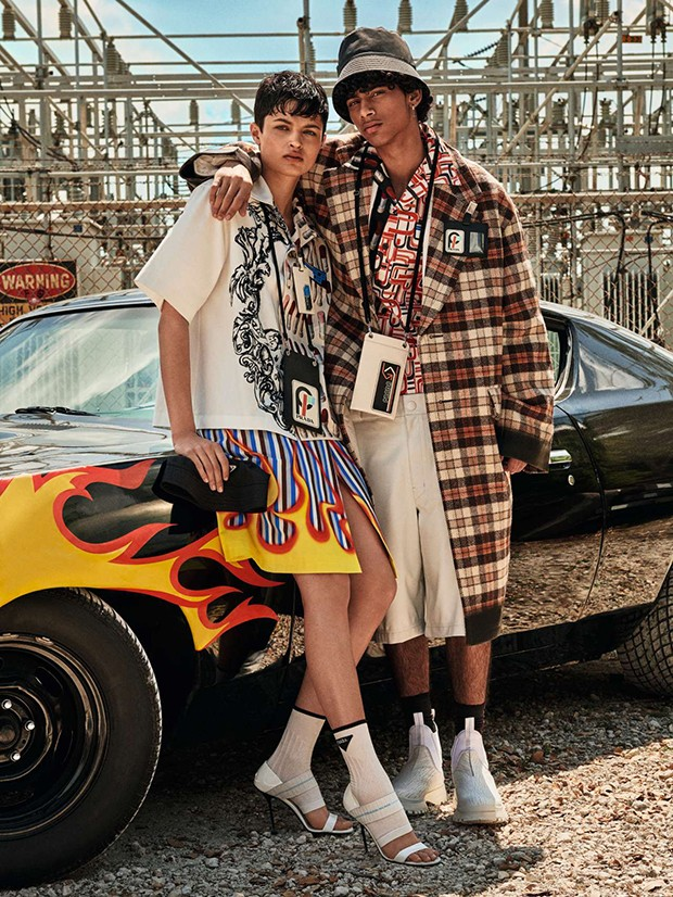 Moda Prada (Foto: GIAMPAOLO SGURA)