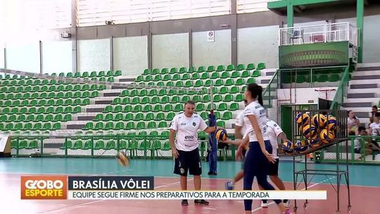 Brasília Vôlei se prepara para início da temporada