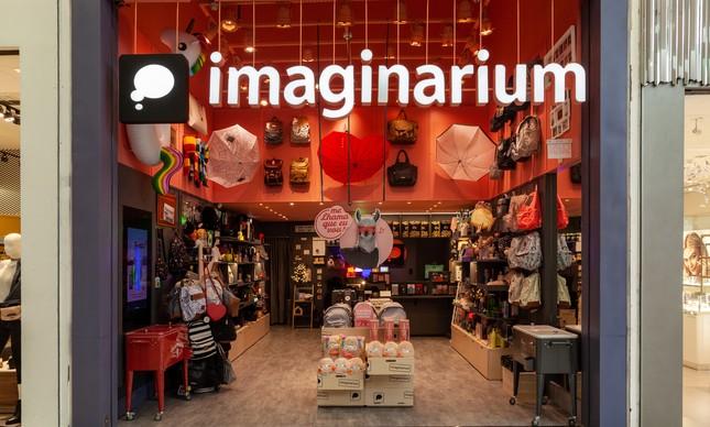 Fachada da loja Imaginarium