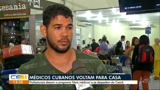 Médicos cubanos que atuavam no Cariri e Centro-Sul do Ceará deixam o estado