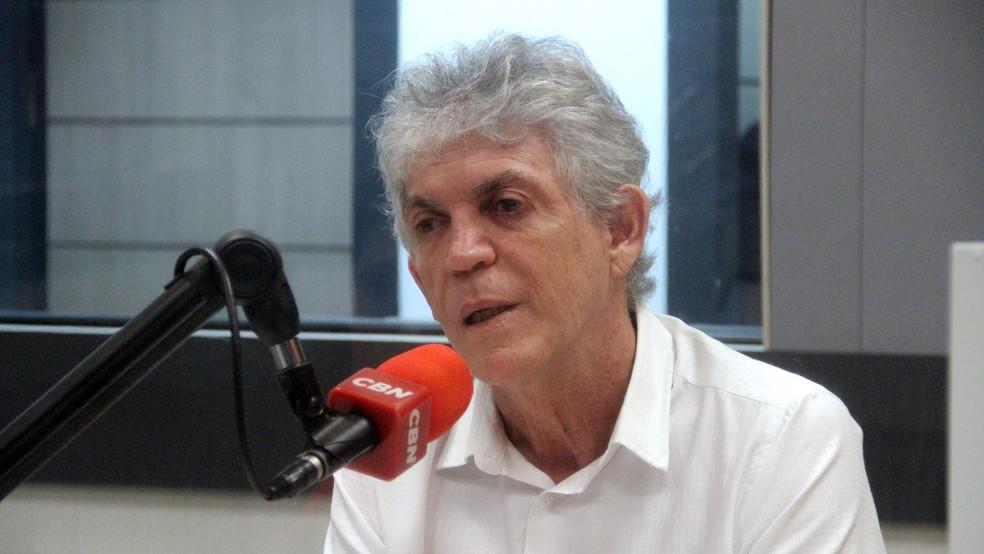 Ricardo Coutinho foi governador da Paraíba por dois mandatos, entre 2011 e 2018 — Foto: Diogo Almeida/G1