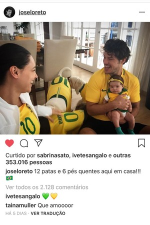 José Loreto (Foto: Reproduçnao Instagram)