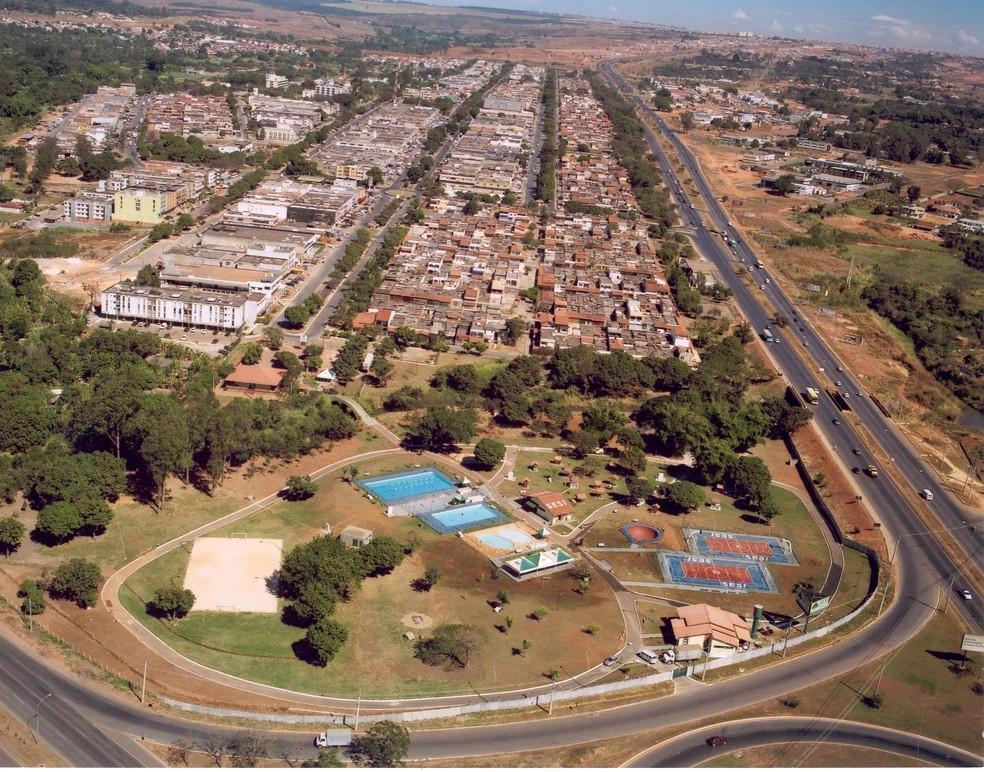 Vista da região do Núcleo Bandeirante, no DF (Foto: Administração Regional do Núcleo Bandeirante /Divulgação  )