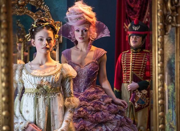 Mackenzie Foy e Keira Knightley em O Quebra-Nozes e os Quatro Reinos (Foto: Divulgação/Disney)