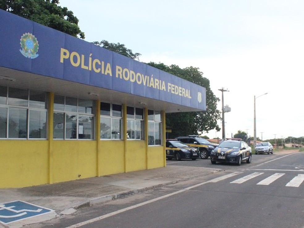 Posto da Polícia Rodoviária Federal em estrada do Piauí, em imagem de arquivo (Foto: Catarina Costa/G1 PI)