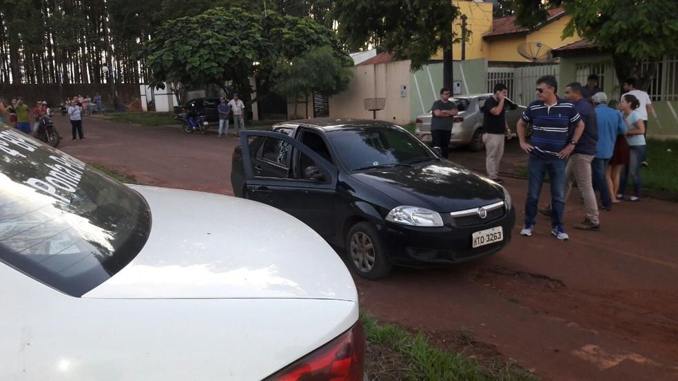 Polícia Civil diz que bandidos tiveram alto grau de profissionalismo ao acertar apenas o alvo, apesar da grande quantidade de disparos (Foto: Divulgação)