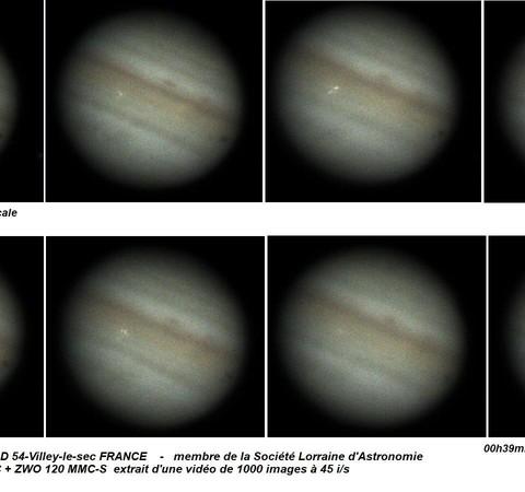 Astrônomo amador do ABC Paulista capta impacto de rocha em Júpiter