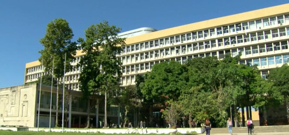 Universidade Federal do Rio de Janeiro — Foto: Reprodução/ TV Globo