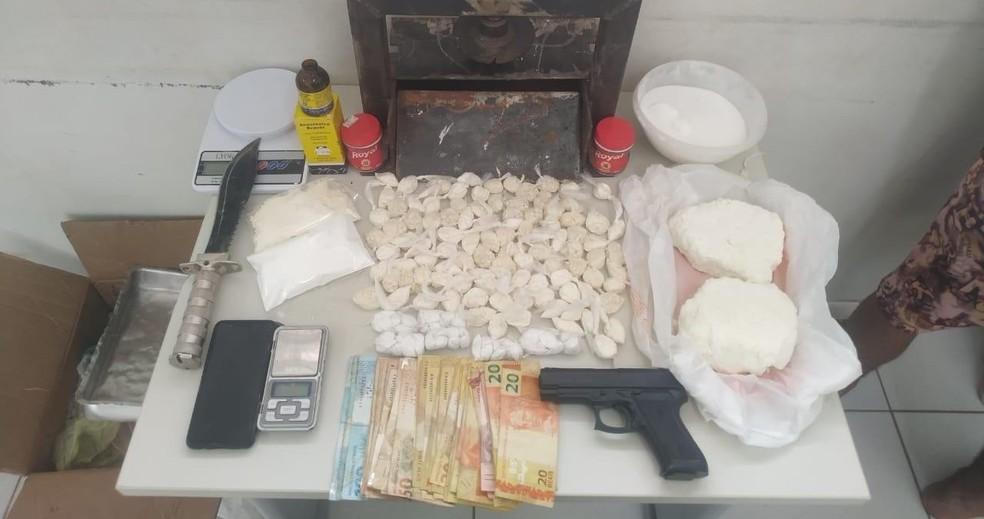 Laboratório para refino de drogas foi desmontado em LEM — Foto: Divulgação / SSP-Ba