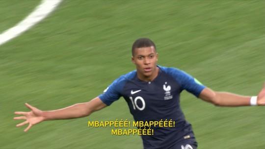 Redação AM: ouça narração de Jano Resseguié para os gols da França contra a Croácia