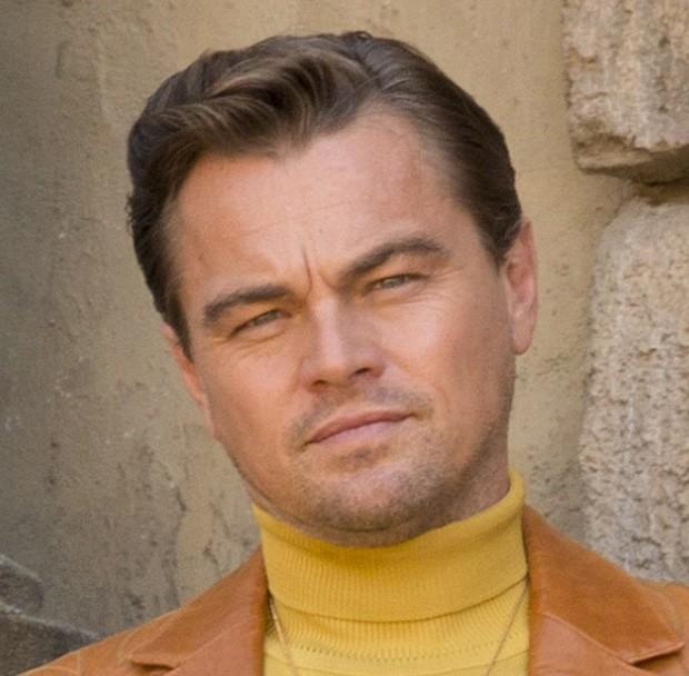 Leonardo DiCaprio com Photoshop (Foto: Divulgação/Sony)