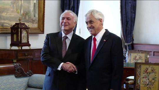 Governo brasileiro assina acordo de livre comércio com o Chile