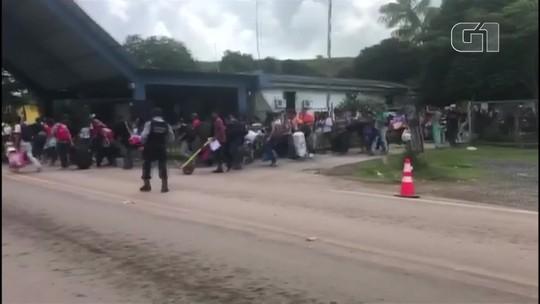 Venezuela pede ao Brasil para proteger seus cidadãos após ataque