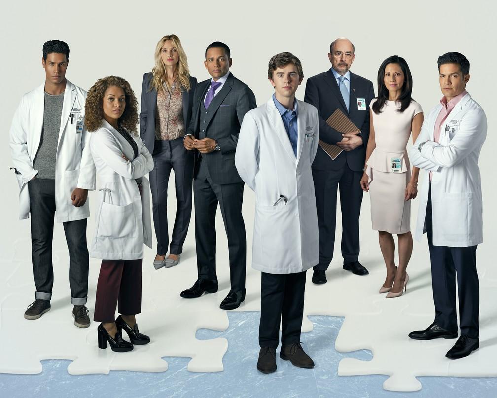 Personagens da série 'The Good Doctor' — Foto: Divulgação / ABC