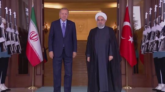 Irã, Turquia e Rússia se reúnem para discutir guerra na Síria