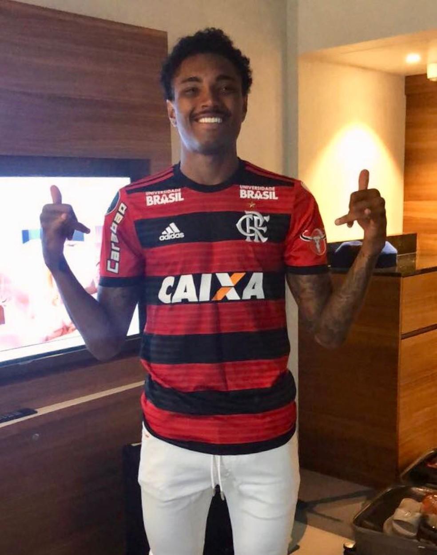 Vitinho vai vestir a camisa 14 do Flamengo (Foto: Divulgação)