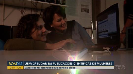 Universidade paranaense é destaque mundial com pesquisas coordenadas por mulheres