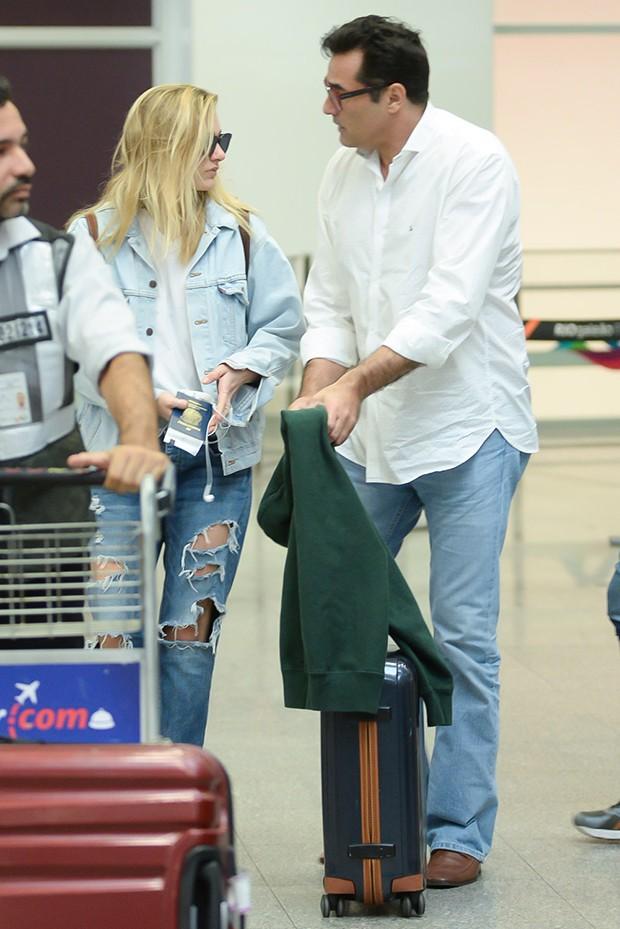 Sasha e Luciano Szafir (Foto: Vinicius Marinho/Brazil News)