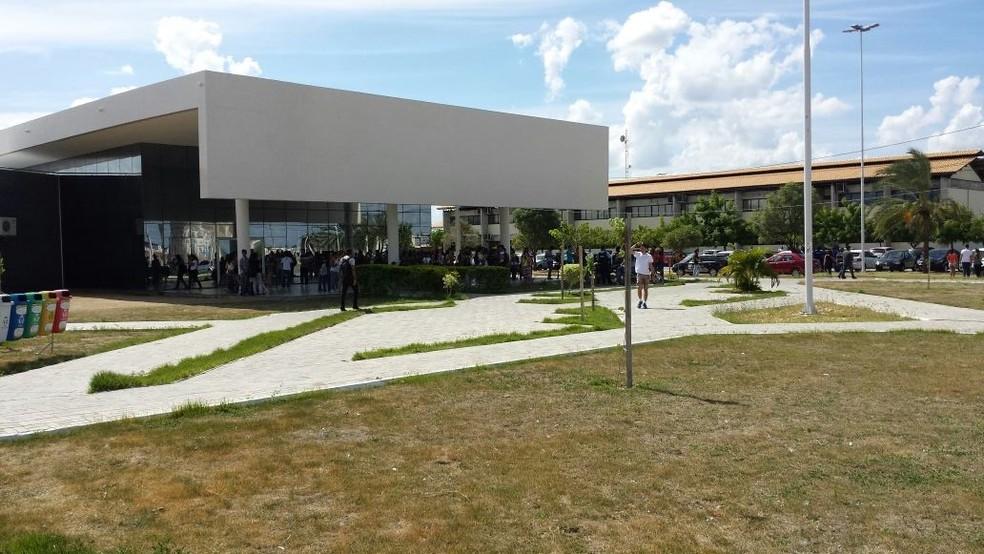 Na Univasf, 84% do investimento programado foi comprometido. — Foto: Leciane Lima / TV Grande Rio