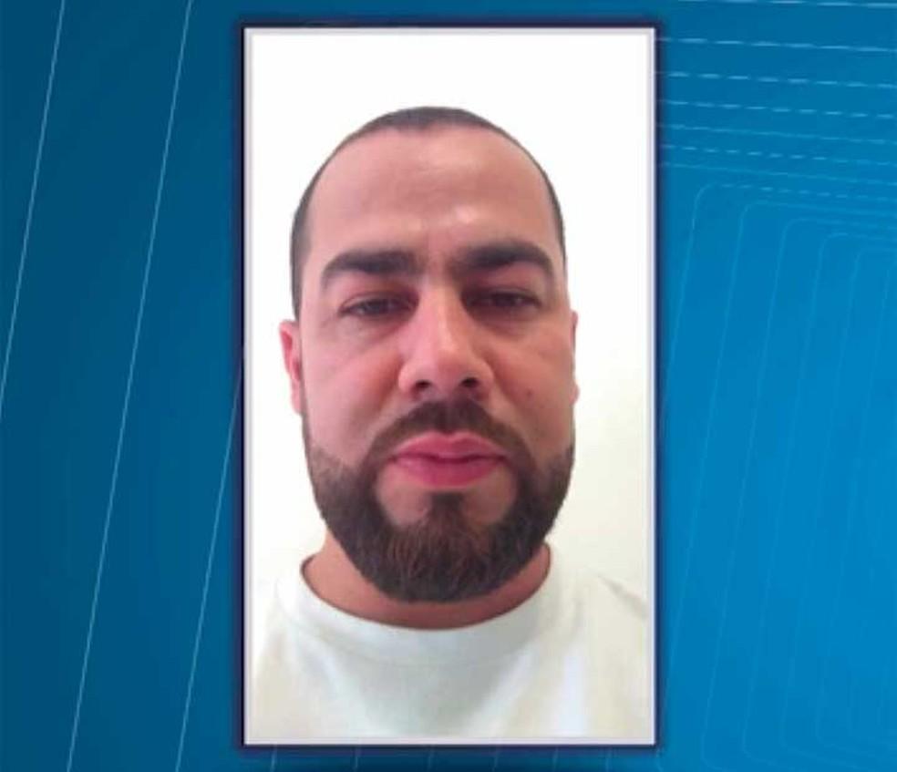 Colombiano desapareceu em Eunápolis, cidade do sul da Bahia onde vive há cerca de quatro anos segundo informações da família (Foto: Imagem/TV Santa Cruz)