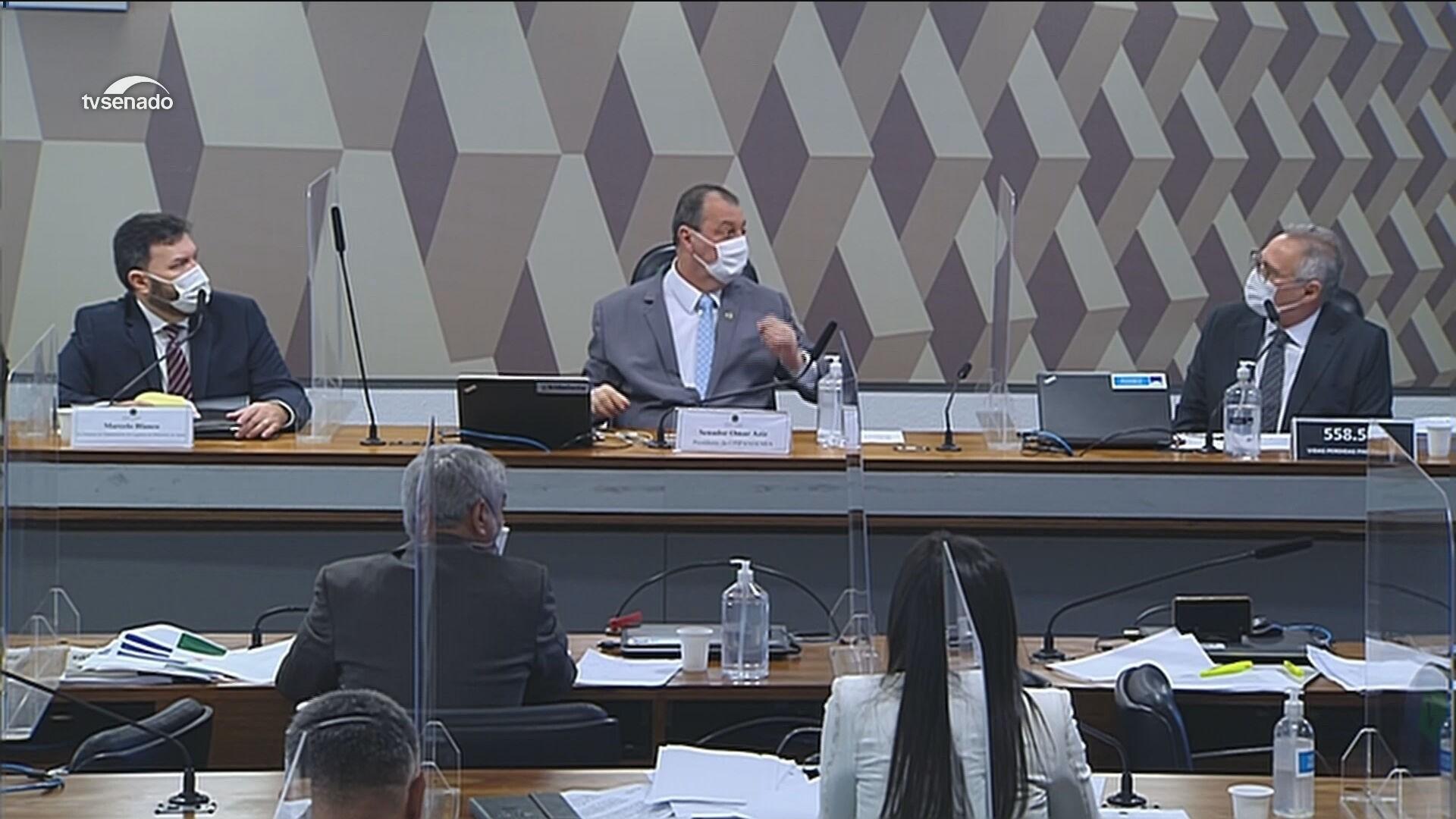 VÍDEOS: coronel Marcelo Blanco depõe à CPI da Covid sobre jantar com suposto pedido de propina
