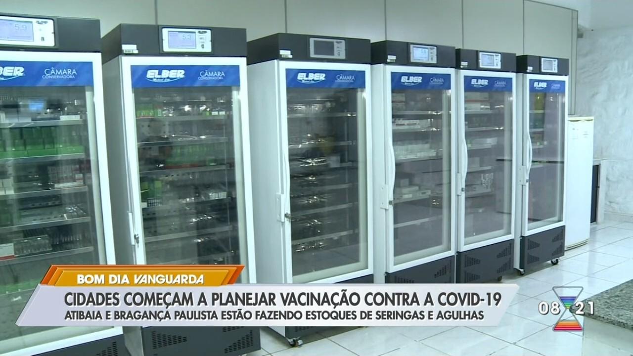 Cidades da região bragantina se preparam para vacinação contra Covid-19