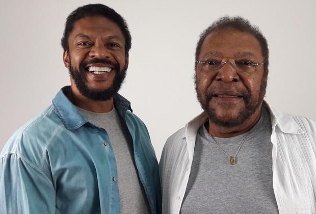 Nill Marcondes e Martinho da Vila (Foto: Divulgação)