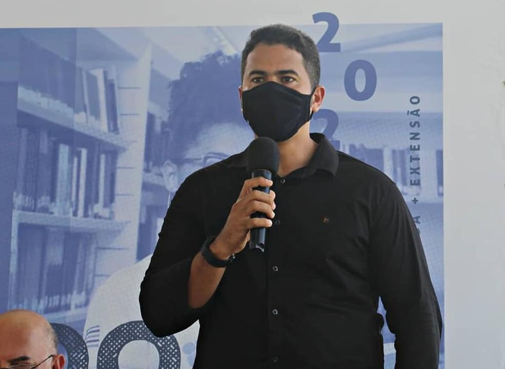 Calvet Filho, Prefeito de Rosário — Foto: Arquivo Pessoal