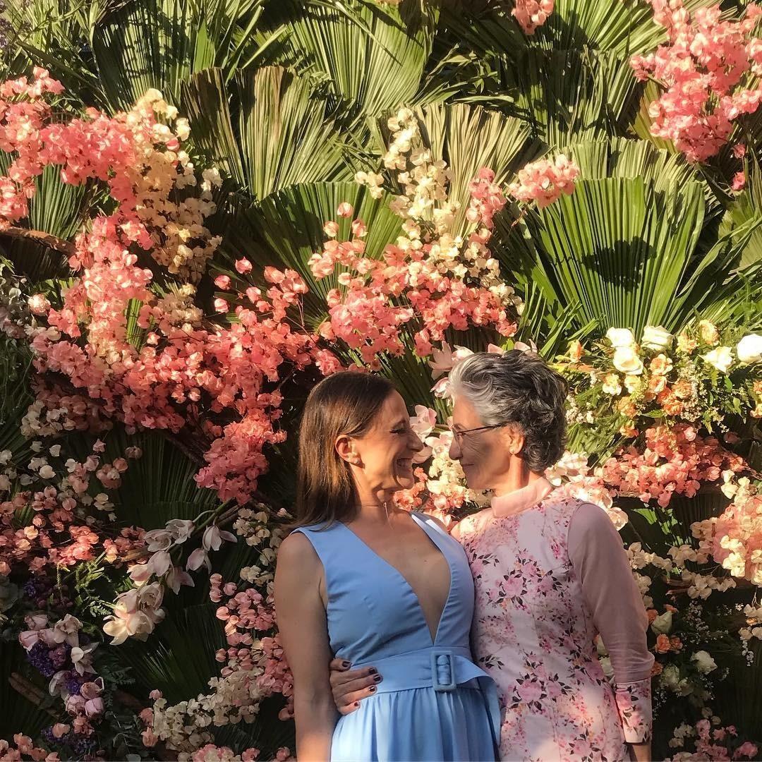 Paula Braun e Cássia (Foto: Reprodução/ Instagram)