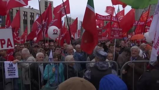 Partido comunista da Rússia pede justiça em eleições de Moscou