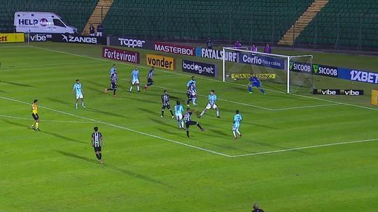 Figueirense 1 x 1 Londrina: assista aos melhores momentos do jogo