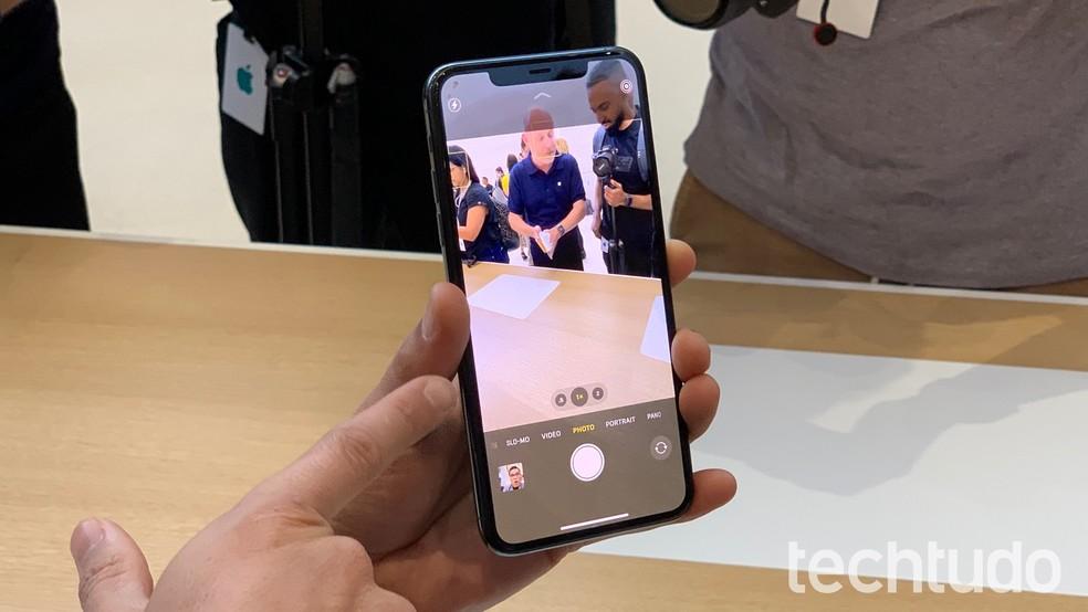 Novo app de câmera chega junto com iOS 13 — Foto: Thássius Veloso/TechTudo