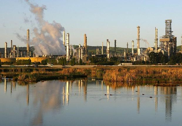 refinaria de petróleo, petróleo, opep (Foto: Justin Sullivan / Getty Images)