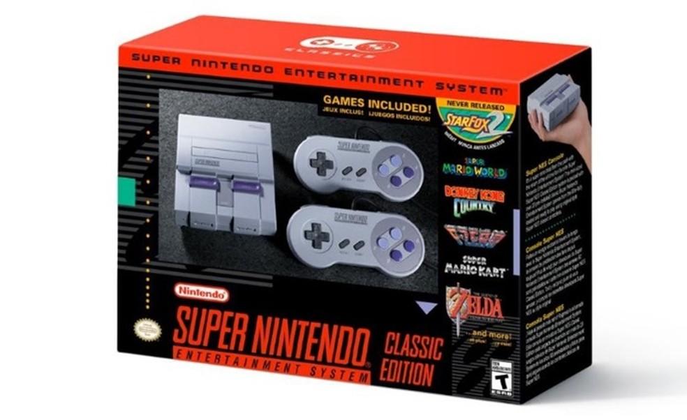 SNES Classic pode ser comprado no Brasil (Foto: Divulgação/Nintendo)