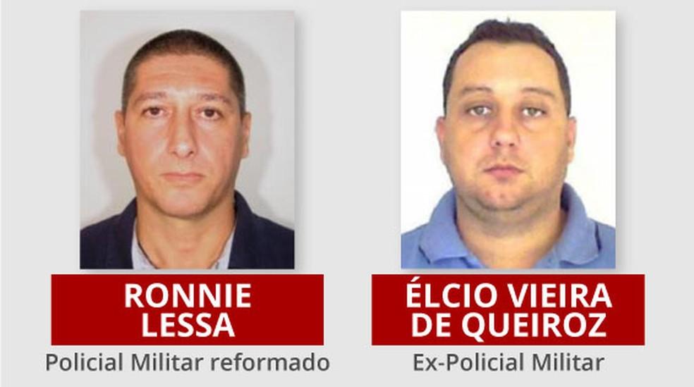 Suspeitos pela morte da vereadora foram presos nesta terça-feira — Foto: Arte/G1