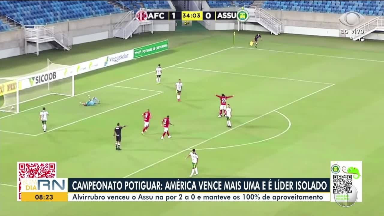 América-RN segue 100% no estadual; ABC vence primeira no Copa do Nordeste