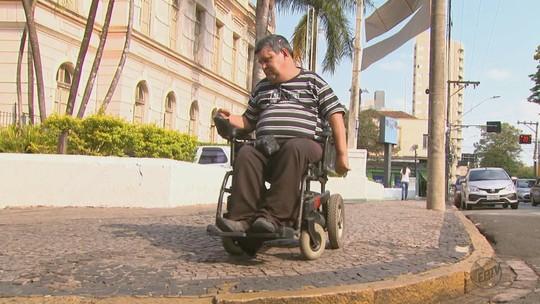 MP investiga problemas de acessibilidade em vias de São João da Boa Vista, SP