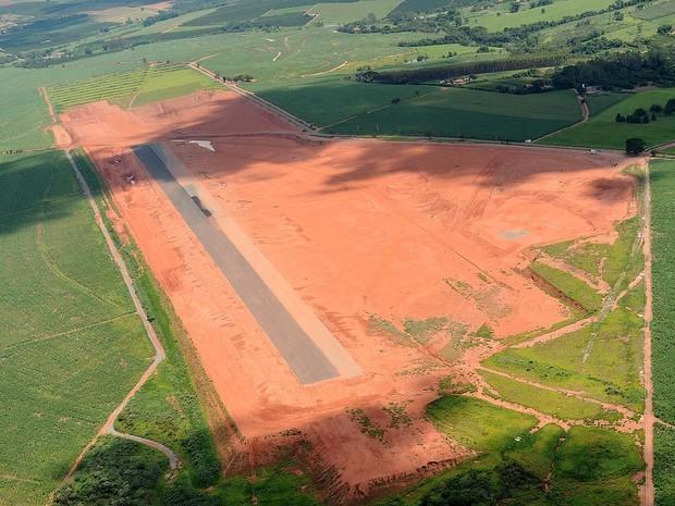 Após gasto de R$ 11,9 milhões, Limeira não tem previsão de retomada de obra de aeroporto